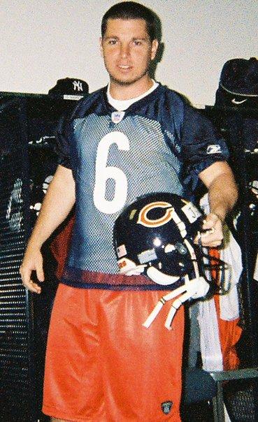 Jackson at Chicago Bears Camp May 2007