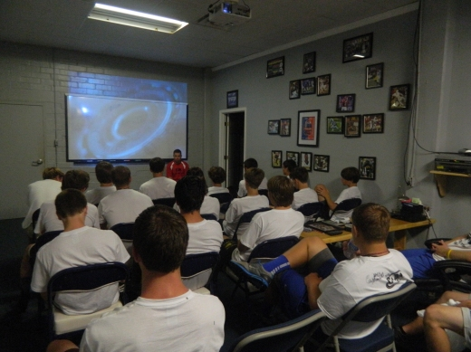 Film session on Special Teams