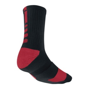 Red Black Nike Socks