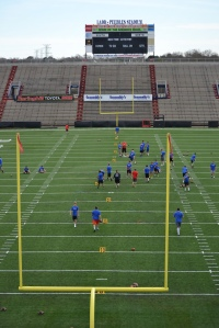 Ladd Peebles Stadium - IF INTERESTED in attending next year's camp - Email Coach Jackson - teamjacksonkicking@gmail.com